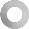 Metal Blank 24ga German Silver Washer-round 25mm with 12mm Hole 9pcs